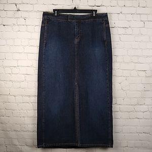 NY Jeans 12 New York & Company Denim Skirt